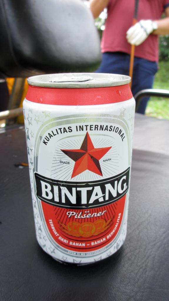 Bintang Beer.