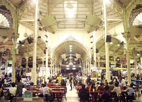 Hawker centres are a huge part of the Singaporean culinary experience. Lau Pa Sat is also a part of its history.